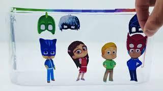 Pj mask kids Wrong Costumes, Masks, yellow, green,bleu Toys for Kids