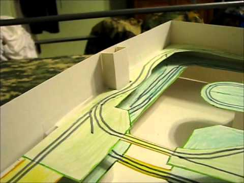 Building a Model Train Layout – Design Mockup