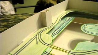 Building A Model Train Layout - Design Mockup