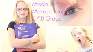 middle school makeup tutorial 6th 7th 8th grade
