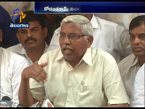 TJAC Chief Prof Kodandaram Press Meet | Police Illegal Arrests | Unemployment Rally