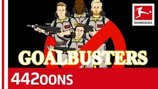 A Ghostbusters Parody - feat. Batshuayi, Reus, Schürrle and Götze - Powered by 442oons