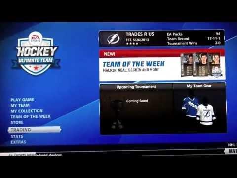 NHL 13 HUT l Trade Day l