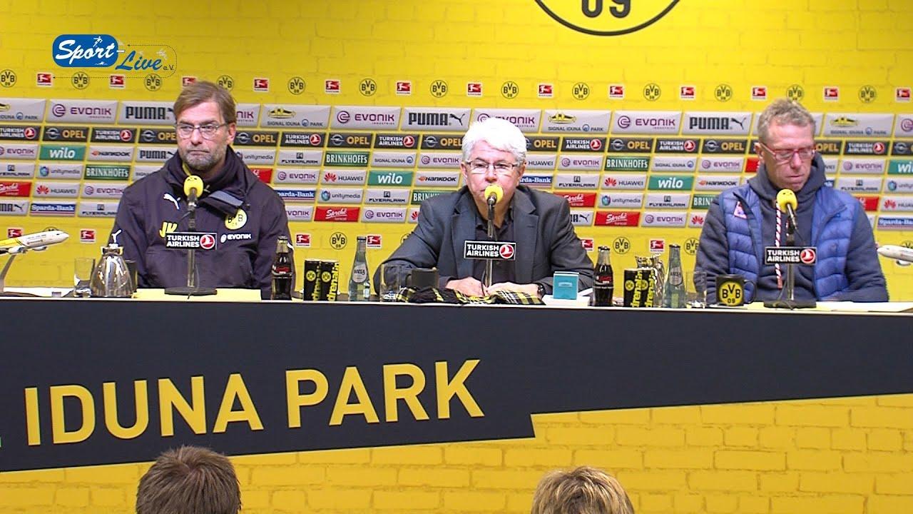 Pressekonferenz nach Borussia Dortmund - 1. FC Köln 0:0 | BvB Bundesliga