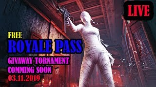 ROYALE PASS GIVAWAY TURNAMENT COMMING SOON 03.11.2019 BLACK TIGER GAMING
