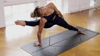 WHY I PRACTICE | Laruga Glaser Yoga Demo on Liforme Mat