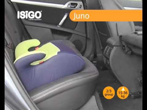 ISIGO Juno (группа 3, бустер) видео-инструкция