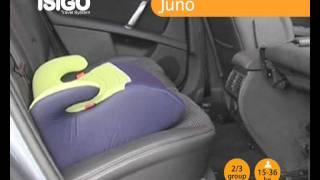 ISIGO Juno (група 3, бустер) відео-інструкція