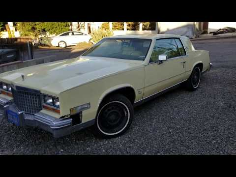 1981 cadillac eldorado gm 5 7 diesel walk around and engine sound youtube 1981 cadillac eldorado gm 5 7 diesel