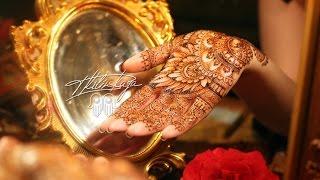 Traditional Indian Mehndi design/Традиционное индийское мехенди