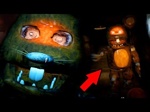 CHASED BY A RAT ANIMATRONIC! || Five Nights at Freddys Obsolete (Demo)