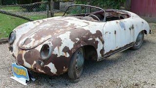 1955 Porsche 356 Pre-A Speedster Full Restoration | Classic Fabrications