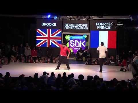 SDK  2013 Final Poppin   Brooke Uk)   Popping Prince (Fra)