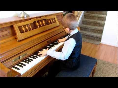 Caleb Plays All of Me by Jon Schmidt