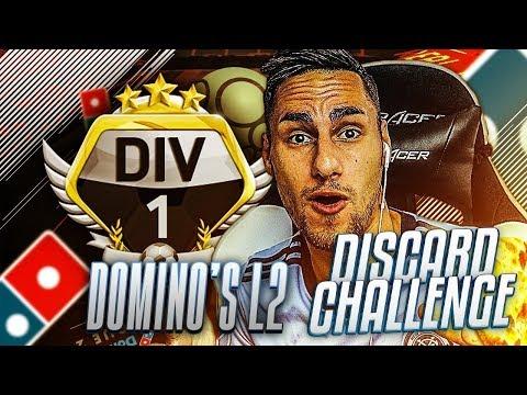 FIFA 18 - DISCARD CHALLENGE - DOMINO'S LIGUE 2 EN DIV 1 !!!