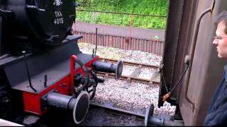 TKh 4015 Karel coupling up at Avon Valley Railway 7th May 2012
