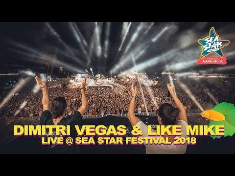 Dimitri Vegas & Like Mike Complicated Live @ Sea Star Festival 2018