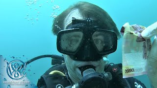 FOUND TURTLE, STRANGE FISH AND 100.000!! - Scuba Diving In Gili Air Next To Bali In February