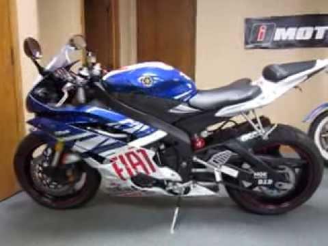 2007 Yamaha YZF-R6 Fiat @ iMotorsports 8134 - YouTube