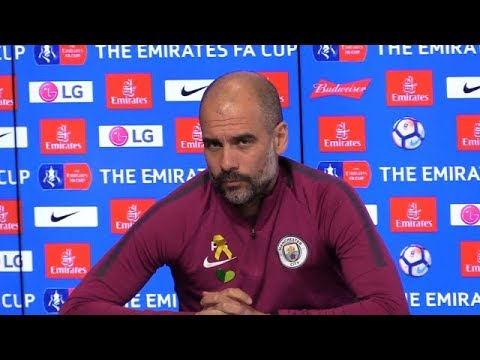 Pep Guardiola pre match press conference FA Cup Wigan Athletic v Manchester City Preview BBC One