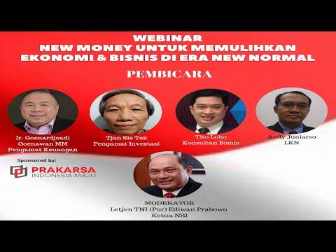 NawaCita Webinar New Money Kamis 18 Juni 2020