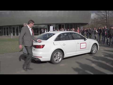 Renewable gasoline: First Audi car to drive using over 34% r