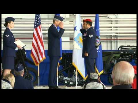 Combat Controller Presented Top Air Force Award