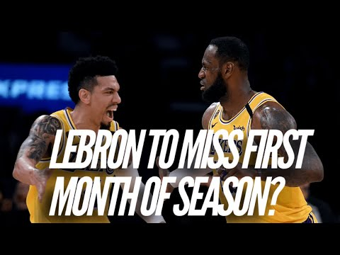 LeBron James Might Miss First Month Of NBA Season?