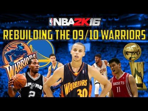 premium selection bbfe8 d1d9c Rebuilding the 2009/2010 Golden State Warriors!! - BETTER THAN REAL LIFE!!  - NBA 2K16 My League