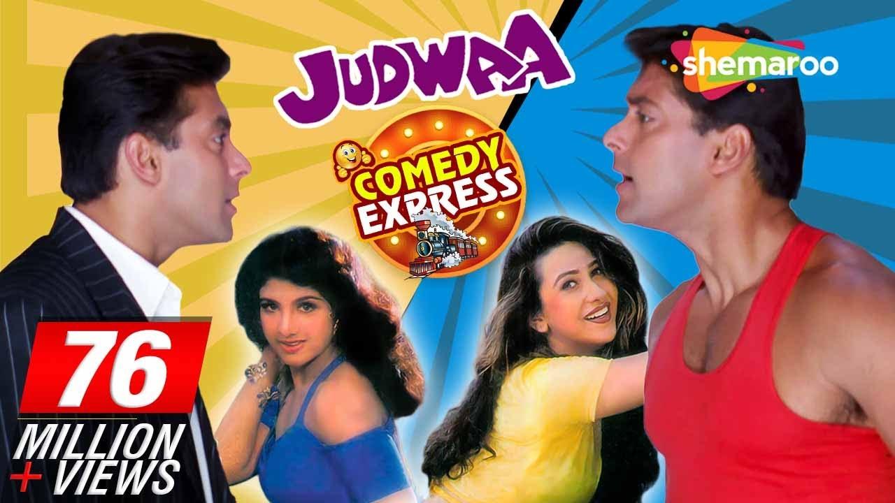 Judwaa (HD)  - Salman Khan - Karisma Kapoor - Rambha - Hindi Full Movie - (With Eng Subtitles)