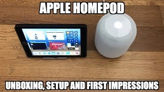 Apple Homepod - First Impressions