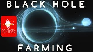 Civilizations at the End of Time: Black Hole Farming