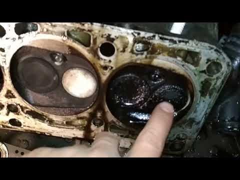 Фото к видео: Диагностика и разборка мотора AHL Volkswagen Passat