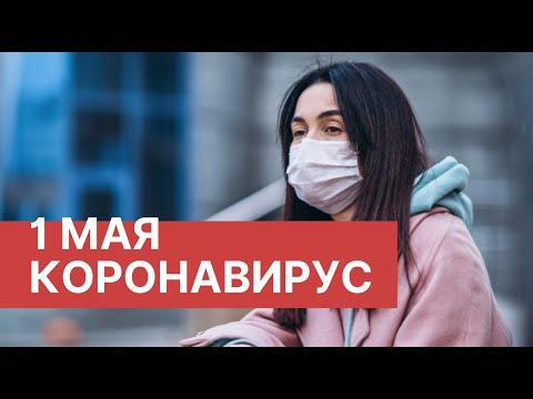 Коронавирус в России. 1 Мая (01.05.2020). Последние новости. Коронавирус в Москве сегодня