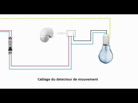 schema electrique du detecteur de mouvement youtube. Black Bedroom Furniture Sets. Home Design Ideas