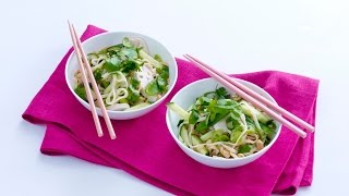 Peanut Noodle Salad With Chicken And Cucumber – Savory
