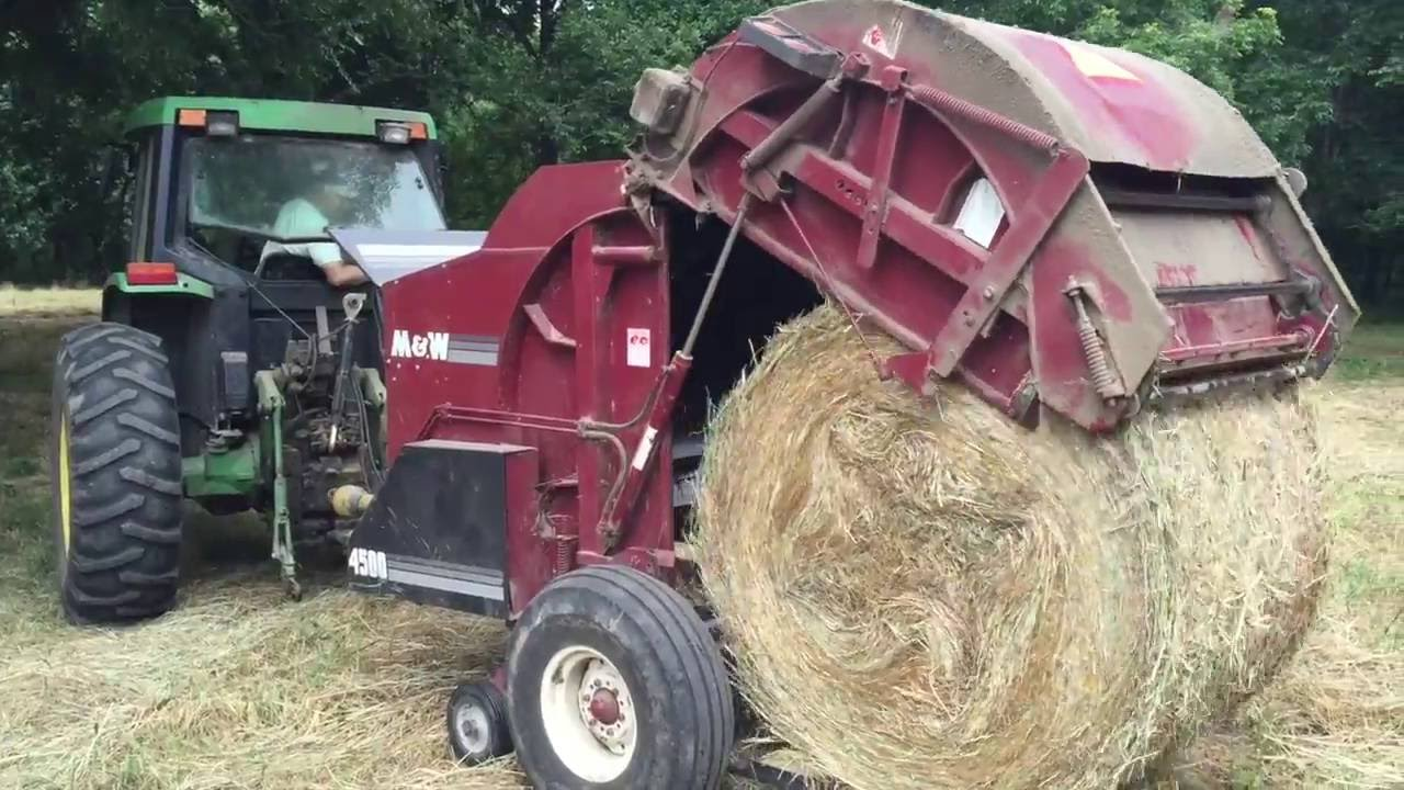 605c vermeer round baler good or bad - Baling Hay On Our Farm How To Cut Rake And Bale Hay Bales Youtube