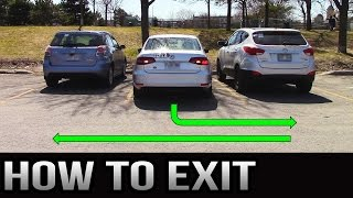 How to Exit a Parking Spot - 90 Degrees and Parallel