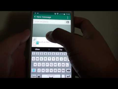 how to find clipboard on samsung galaxy s6