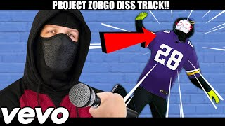 (NINJA SONG!) PROJECT ZORGO DISS TRACK RAP BATTLE ROYALE!! CHAD WILD CLAY CWC VY QWAINT PZ9