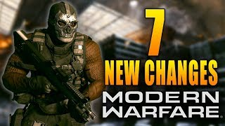 Modern Warfare: 7 New Changes in Today's Update!