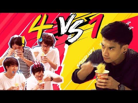 แข่งกินกับพีช 4 รุม 1 !!! by Nissin - วันที่ 27 Nov 2018