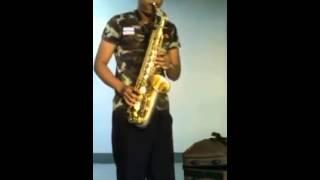 Suzuki alto-sax ทองด้าน