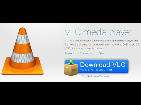 How To Download And Install VLC Media Player On Windows 7!