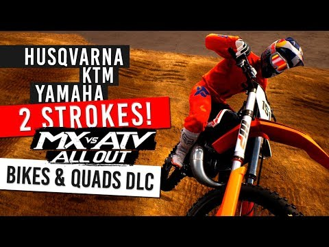 MX vs ATV All Out - New 2 Stroke & Quad DLC - YZ125/TC250/250SX