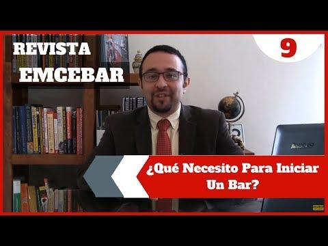 Qué Necesito Para Iniciar Un Bar    Revista EMCEBAR #9