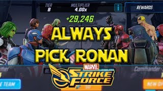 "Blitz Tips My ""A"" Team - Marvel Strike Force - MSF"