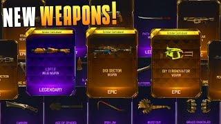 I GOT THE NAIL GUN, D13 SECTOR, ARM, AND 16 OTHER WEAPONS! (BO3 Supply Drop Opening) - MatMicMar