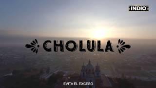 Portadilla del video de cerveza indio en Cholula