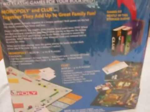 BOOKSHELF GAMESMonopoly Clue SCATTERGORIES